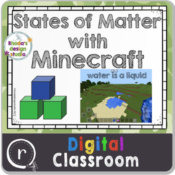 The States of Matter using Minecraft and Google Slides Paperless