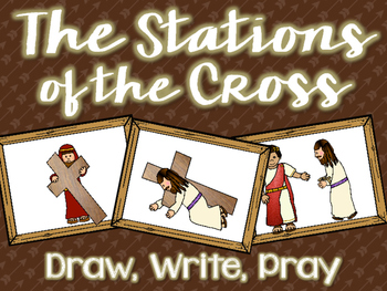 The Stations of the Cross: Draw, Write, Pray