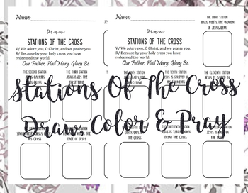 The Stations of the Cross [draw]