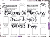 The Stations of the Cross [symbols]