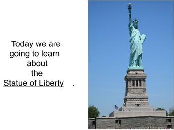 American Symbols- Statue of Liberty