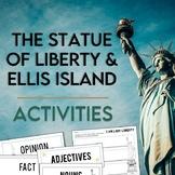 Statue of Liberty & Ellis Island Activity Pack