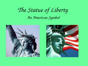 The Statue of Liberty Power Point