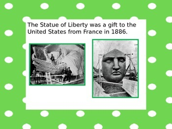 The Statue of Liberty Powerpoint
