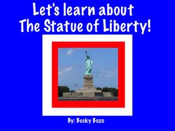 The Statue of Liberty Smart Board Lesson