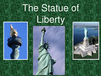 The Statue of Liberty Trivia Game Slideshow-English version