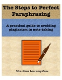 The Steps to Perfect Paraphrasing - A Practical Lesson for