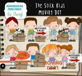 The Stick Kids Moving Day Clipart Collection