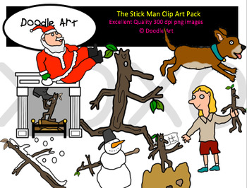 The Stick Clipart Pack