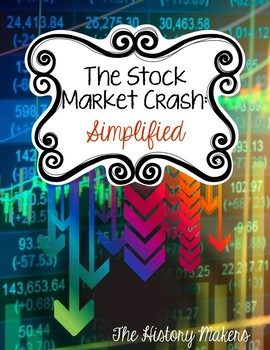 The Stock Market Crash: Simplified