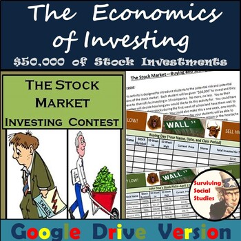 Distance Learning: The Economics of the Stock Market Activity - MS Excel/Google