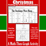 The Stockings Were Hung - A Math-Then-Graph Activity - Finding Vertices