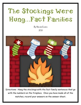 The Stockings Were Hung...Fact Families