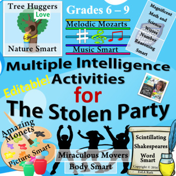 The Stolen Party Multiple Intelligence Activities