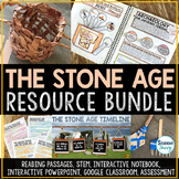 The Stone Age Activities Resource Bundle | Early Humans | Archaeology