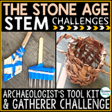 The Stone Age Activities STEM Challenges   Archaeology