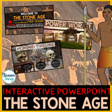 The Stone Age | Early Humans PowerPoint and Google Slides