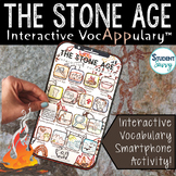 The Stone Age Interactive VocAPPulary™ - Early Humans Voca