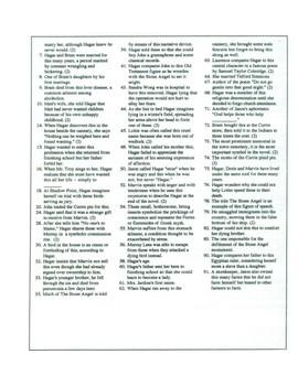 The Stone Angel Crossword