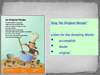 """The Stone Garden"" (Weekly PowerPoint for Reading Street 2013)"