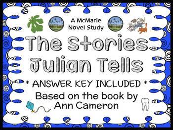 The Stories Julian Tells (Ann Cameron) Novel Study / Compr