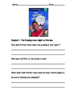 The Stories Julian Tells Chapter Study