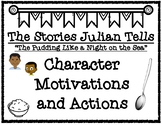 The Stories Julian Tells Character Motivations and Actions