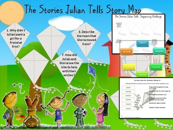 The Stories Julian Tells Comprehension Activities and Games