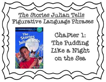 The Stories Julian Tells Literal Language Activity