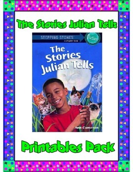 The Stories Julian Tells Printables Pack