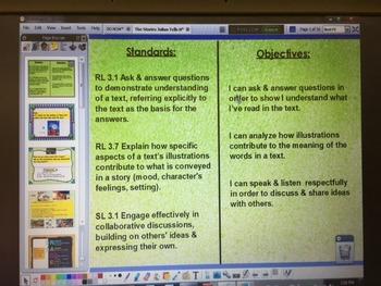 The Stories Julian Tells RL3.7 ActivInspire Flipchart Louisiana Guidebook