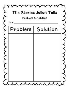 The Stories Julian Tells Reading Response