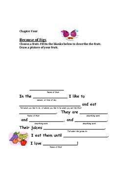 The Stories Julian Tells Response Journal
