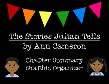The Stories Julian Tells Chapter Summary Graphic Organizer