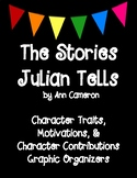 The Stories Julian Tells by Ann Cameron Character Analysis Graphic Organizers