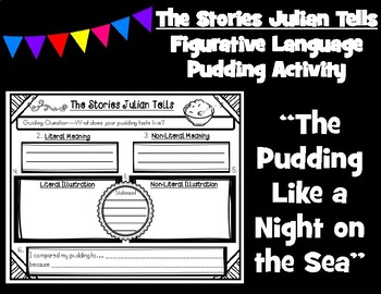 The Stories Julian Tells by Ann Cameron Figurative Language Activity