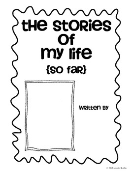 The Stories of My Life (So Far) - Autobiography Book for Publishing