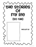The Stories of My Life (So Far) - Autobiography Book for P