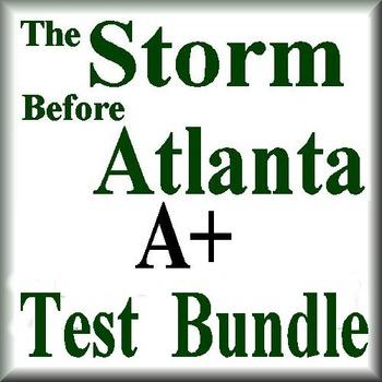 The Storm Before Atlanta Novel Study Test Bundle