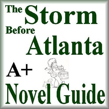 The Storm Before Atlanta Unit Novel Study Common Core Aligned