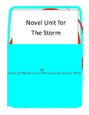 The Storm Book Unit with Literary and Grammar Activities