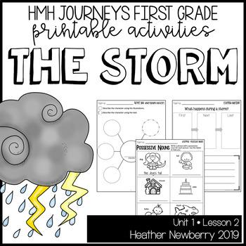The Storm: Journeys 1st Grade (Unit 1, Lesson 2)