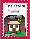The Storm, Journeys, First Grade, Centers and Printables