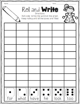 The Storm - Journeys First Grade Print and Go Activities