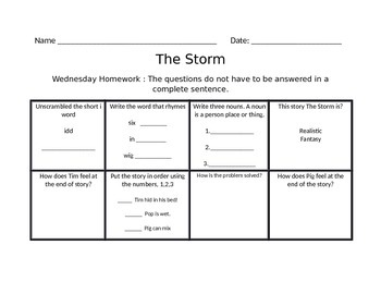 The Storm Journys Common Core