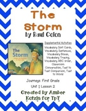 The Storm Supplemental Activities 1st Grade Journeys Unit 1, Lesson 2