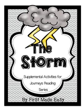 The Storm: Supplemental Activities For Journeys Unit 1