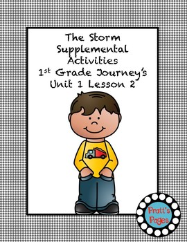 The Storm Supplemental Activities for Journey's Unit 1 Lesson 2