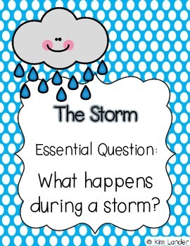 The Storm Weekly Plans and Support Materials