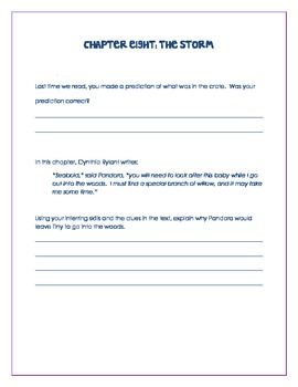 The Storm by Cynthia Rylant Common Core Exemplar Text